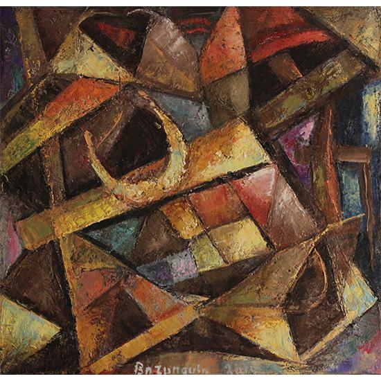 Maurice Bazungula (Oils on Canvas)